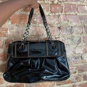 Fendi Bags - FENDI Patented Leather B.Bag 100% authentic!